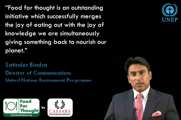 Food For Thought - Satinder Bindra