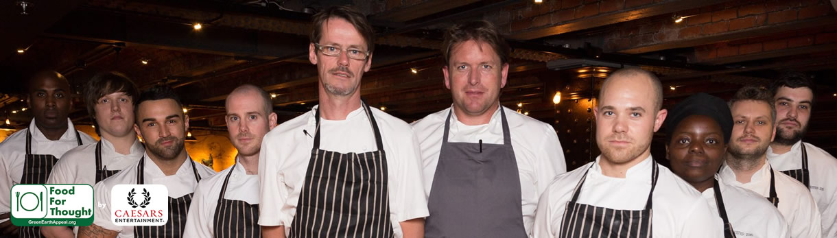 Food For Thought - James Martin Manchester